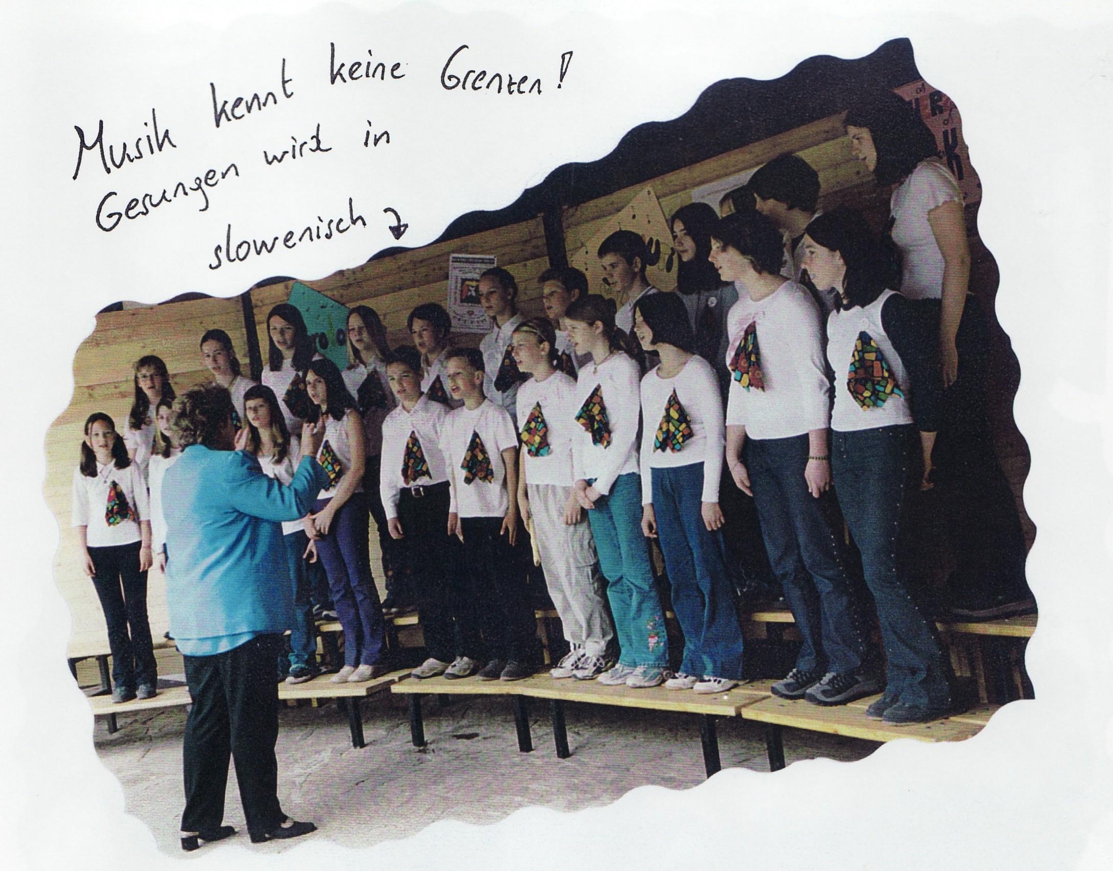 Klassenchor aus Slowenien