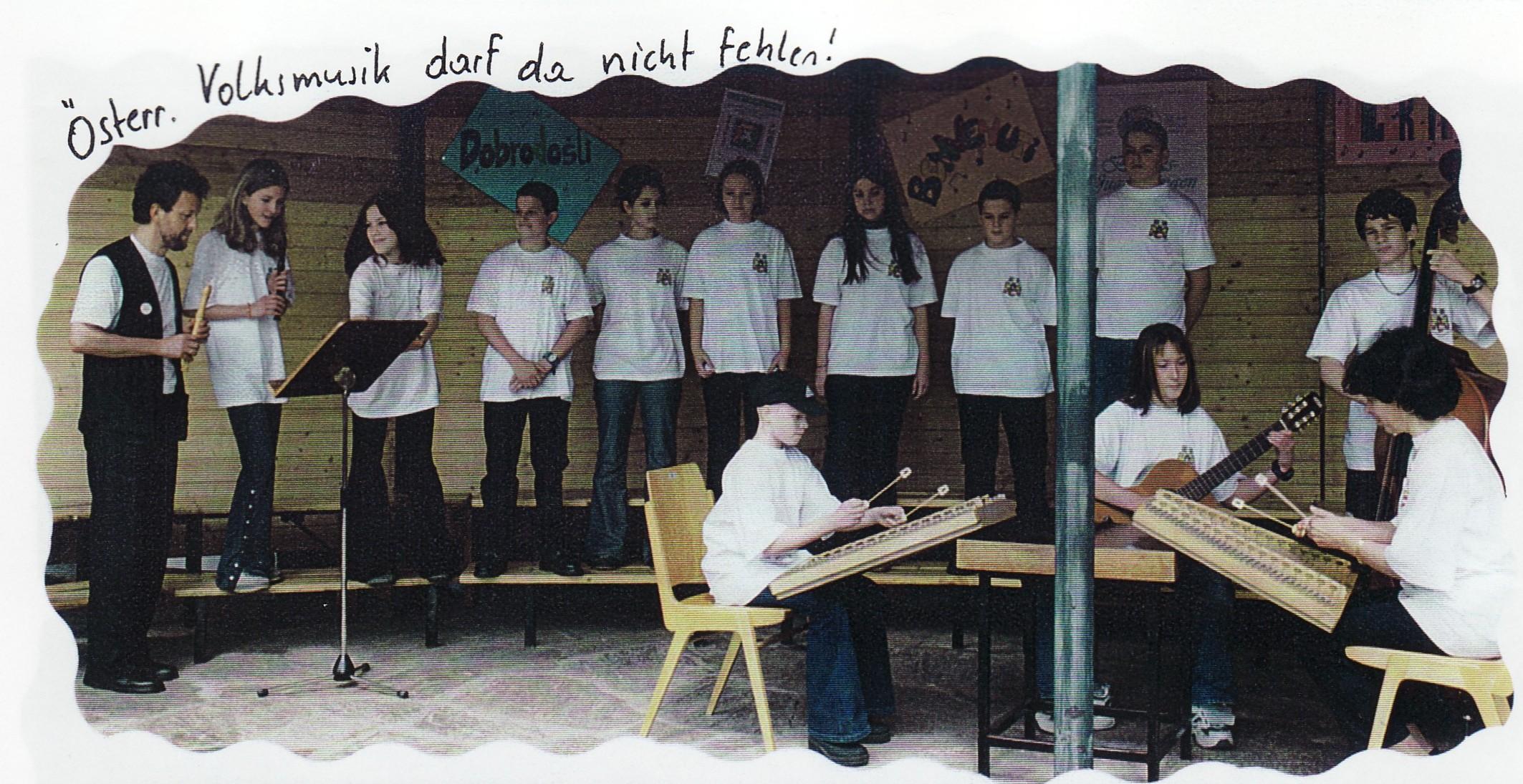 Chor der Klasse 3a